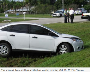 Ellenton 300x240 School bus crash injures 8 students in Ellenton